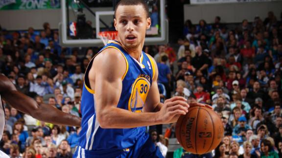 Curry, Warriors take charge late vs. Mavs