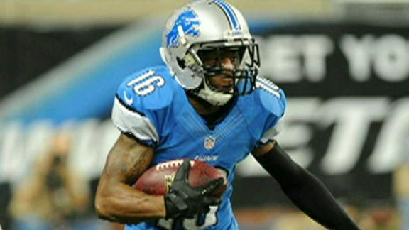 Video - Lions Bench Titus Young