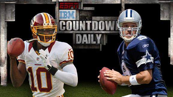 Video - Countdown Daily AccuScore: WSH-DAL