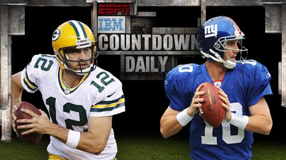 Video - Countdown Daily AccuScore: GB-NYG