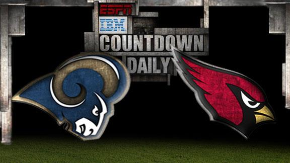 Video - Countdown Daily Prediction: Rams-Cardinals