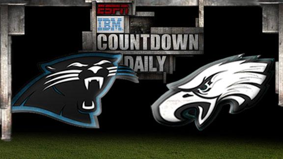 Video - Countdown Daily Prediction: Panthers-Eagles