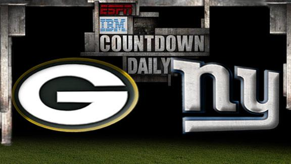 Video - Countdown Daily Prediction: Packers-Giants