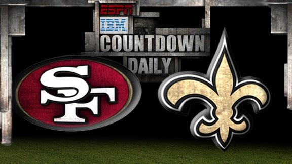 Video - Countdown Daily Prediction: 49ers-Saints