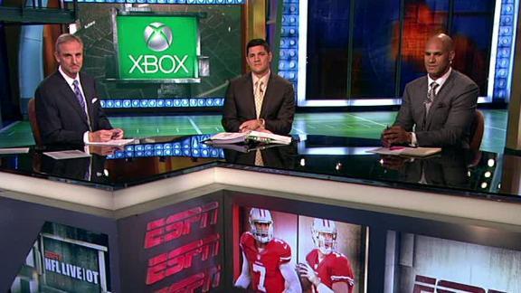 Video - NFL Live OT: 49ers' QB Controversy