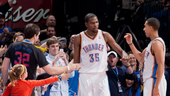 Durant, Westbrook carry Thunder past Clippers