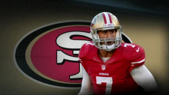 Video - Smith Is Told Kaepernick Will Get First-Team Reps In Practice
