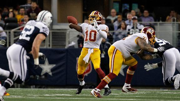 Video - Redskins Burn Cowboys With Deep Ball