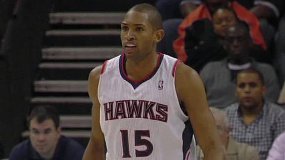 Video - Horford Propels Hawks Past Bobcats