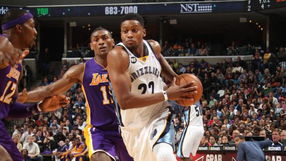 Video - Grizzlies Send Lakers To 0-4 On The Road