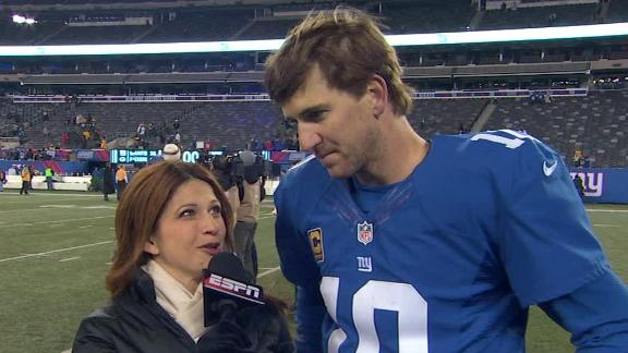 Video - Eli Manning After Win Over Packers