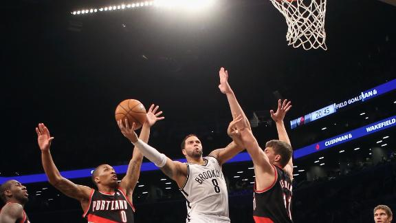 Video - Williams, Nets Surge Past Blazers
