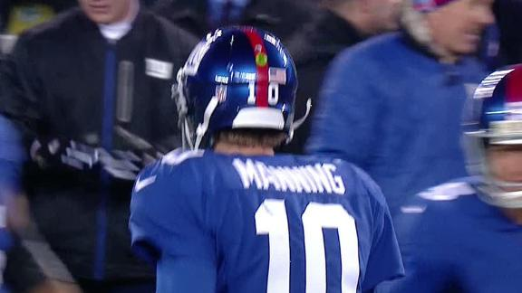 Video - Manning, Giants Snap Slide