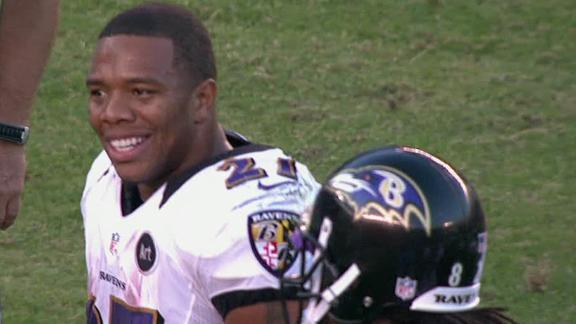 Ray Rice delivers play of the 2012 season