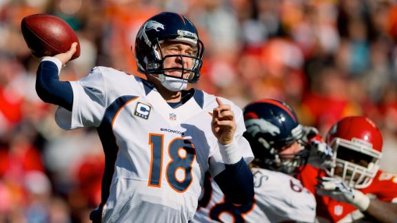 Peyton took every snap despite concussion test