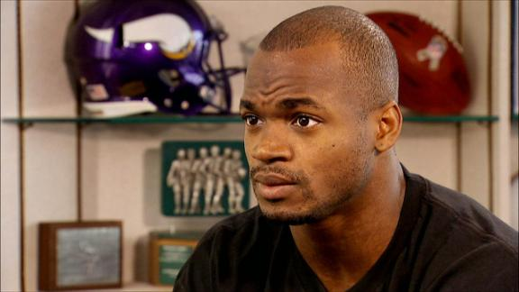 Adrian Peterson on managing contact