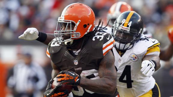 Video - Browns Force Eight Turnovers, Top Steelers