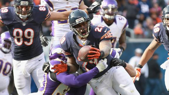 Bears' Cutler (concussion) gets start vs. Vikes