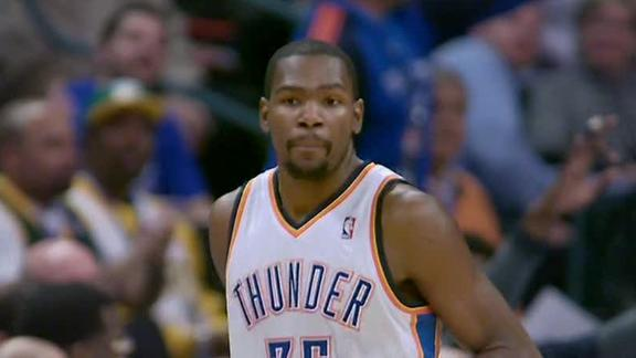 OKC rides 40-point halftime lead past Bobcats