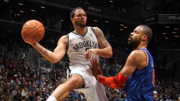 Nets kick Knicks in OT in 1st Brooklyn meeting