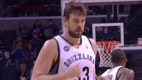 Video - Grizzlies Claw Past Cavs, 84-78