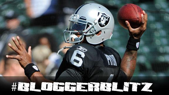 Blogger Blitz: QB change in Oakland?