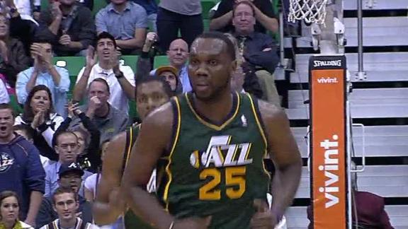 Video - Jazz Hold Off Nuggets