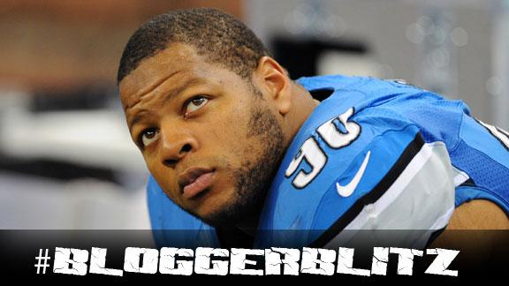 Suh fined $30K but says kick not on purpose
