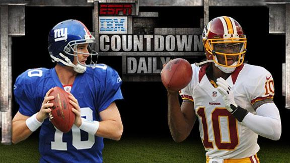 Video - Countdown Daily AccuScore: NYG-WSH