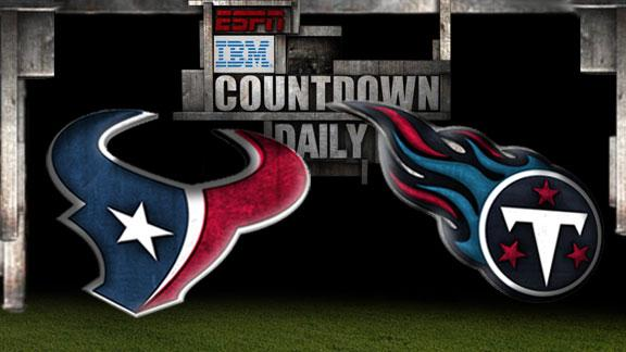 Video - Countdown Daily Prediction: Texans-Titans