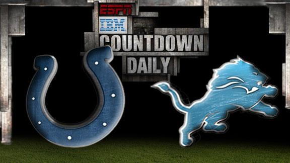 Video - Countdown Daily Prediction: Colts-Lions