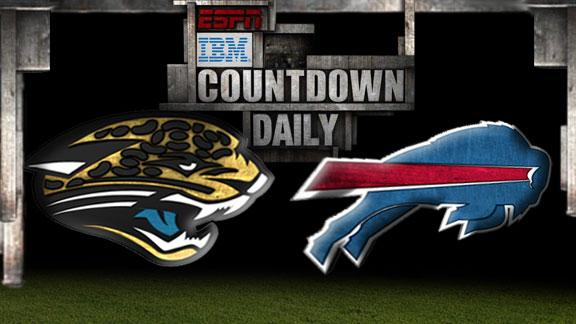 Video - Countdown Daily Prediction: Jaguars-Bills