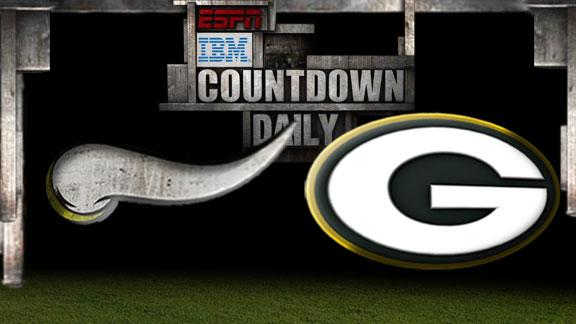 Video - Countdown Daily Prediction: Vikings-Packers