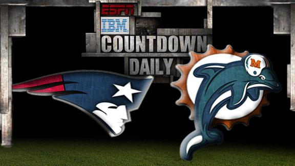 Video - Countdown Daily Prediction: Patriots-Dolphins