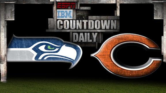 Video - Countdown Daily Prediction: Seahawks-Bears
