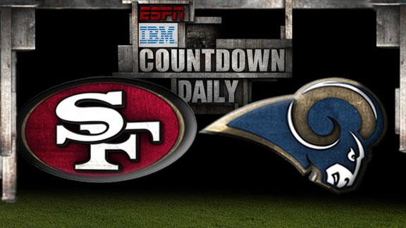 Video - Countdown Daily Prediction: 49ers-Rams