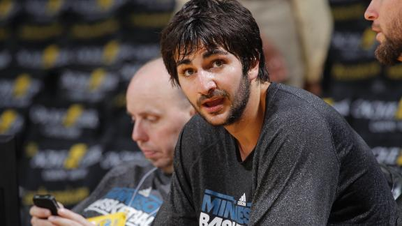Rubio returns to practice, ready to test knee
