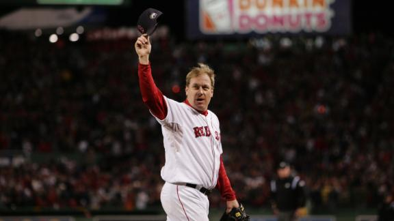 Video - Schilling Debuts On Hall Of Fame Ballot
