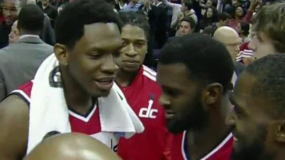 Video - Wizards Pick Up First Win Of The Season
