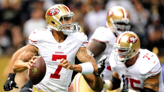 Video - Colin Kaepernick Named Starter