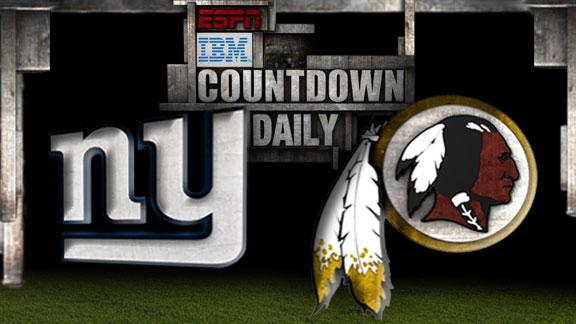 Video - Countdown Daily Prediction: Giants-Redskins