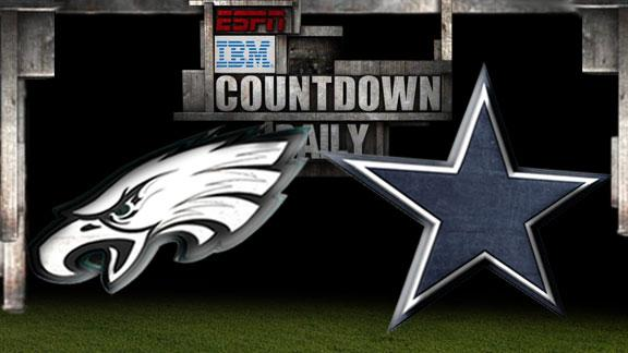 Video - Countdown Daily Prediction: Eagles-Cowboys