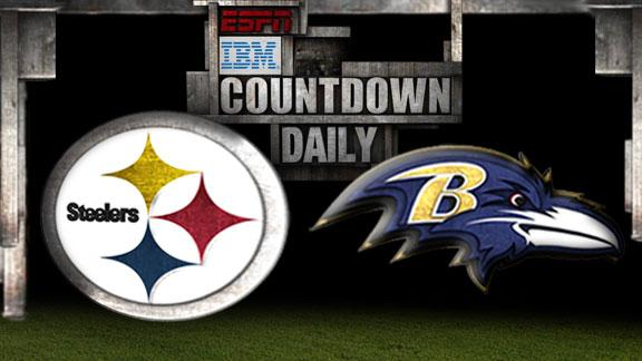 Video - Countdown Daily Prediction: Steelers-Ravens