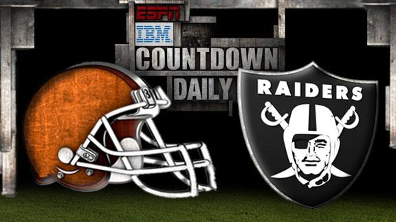 Video - Countdown Daily Prediction: Browns-Raiders