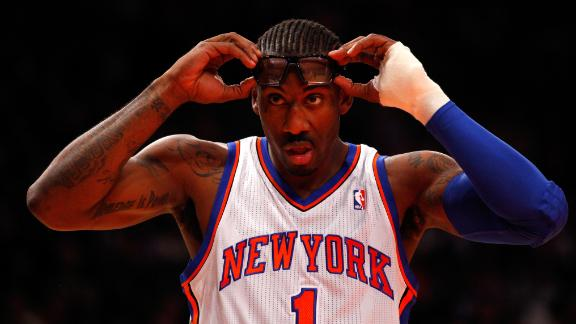 Sources: Amar'e would accept sixth man role