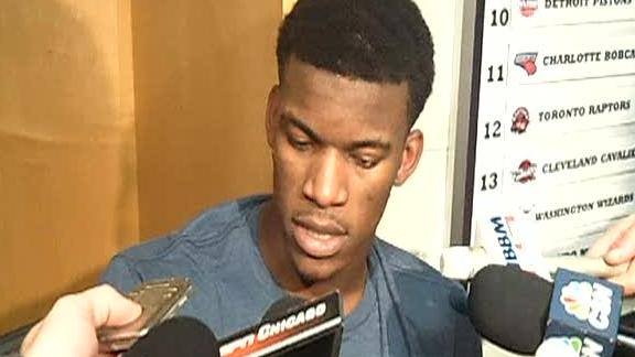 Video - Jimmy Butler On The Bulls' Bench Contribution
