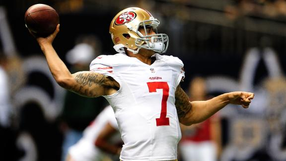 Video - Colin Kaepernick Criticized For Having Tattoos