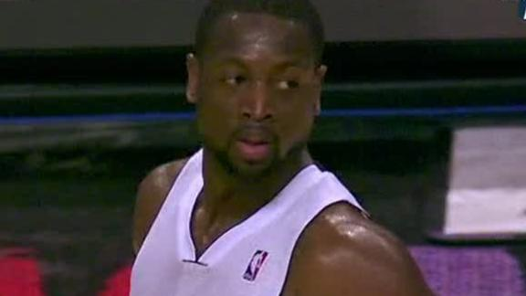 Video - Wade's Big Night Rallies Heat