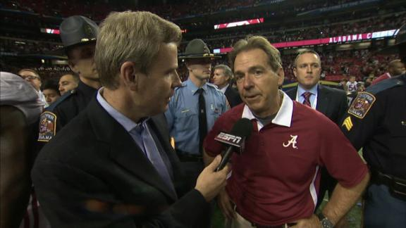 dm 121201 ncf saban interview Alabama Coach Nick Saban   National Champion & Lean Thinker? lean