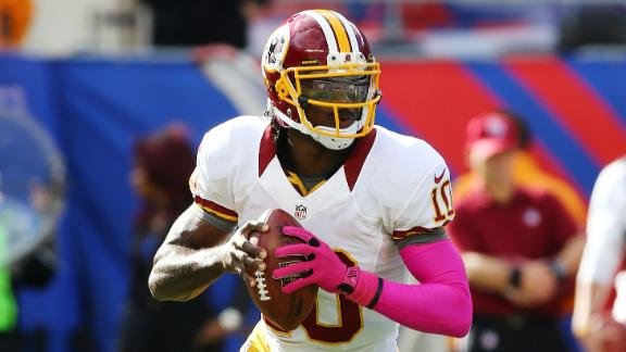Giants are fans of Robert Griffin III